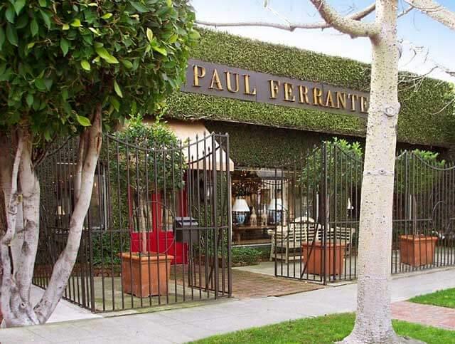 Paul Ferrante Lighting Historic Store Front